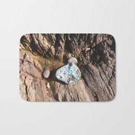 Blue stone Bath Mat