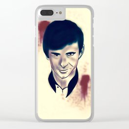 Norman Bates evolution Clear iPhone Case