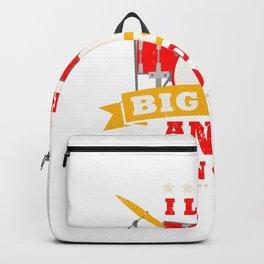 I Like Big Kits Drum Kit Band Drummer Set Stick Percussion Backpack