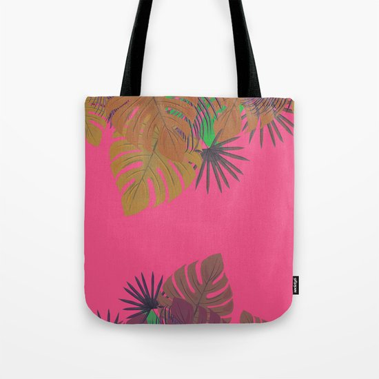 Tropical leaves 05 Tote Bag