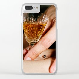 Tequila Clear iPhone Case