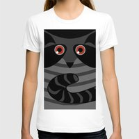 racoon T-shirts featuring racoon - raccoon  by ArigigiPixel