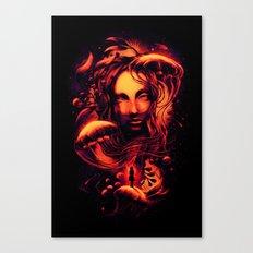 Ocean of Secrets Canvas Print