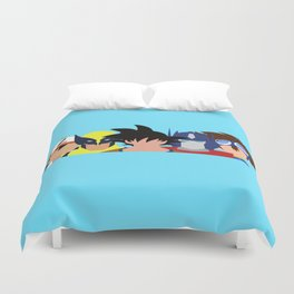 Childhood in a Nutshell Grouped #1 Duvet Cover
