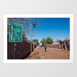 CHILE, San Pedro de Atacama: Atacama Desert Art Print