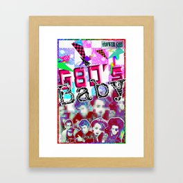 G80's Baby Framed Art Print