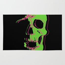 Skull - Neon Rug