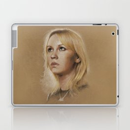 That blonde girl Laptop & iPad Skin