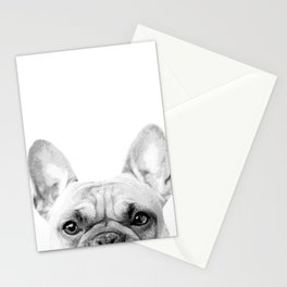 Bruno The French Bulldog Stationery Cards