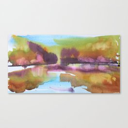 A Splash of Autumn Canvas Print