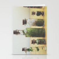 oasis Stationery Cards featuring Oasis by Shiroshi