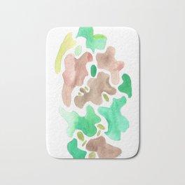 171115 Colour Shape 4 abstract shapes art design  abstract shapes art design colour Bath Mat