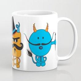 Mustachioed Miscreant Coffee Mug