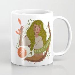 Sagittarius Zodiac Illustration Coffee Mug
