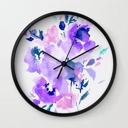 Flowers 7 Wall Clock