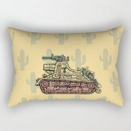 African desert corps tank WWII Rectangular Pillow