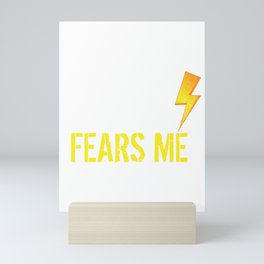 The Storm Fears Me Storm Chasers Mini Art Print