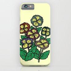 technicolor flowers Slim Case iPhone 6s