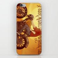rebel iPhone & iPod Skins featuring Rebel by Salva Laserna