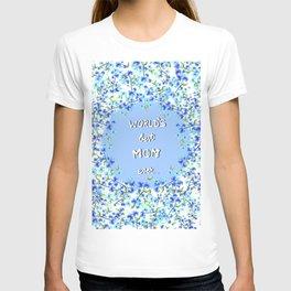 Worlds Best Mom Ever ( blue ) T-shirt