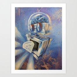 Robotronic: Diamond Droid Art Print