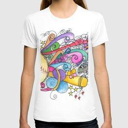 muticolo Baseball T-shirt