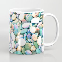 PEBBLES ON THE BEACH Coffee Mug