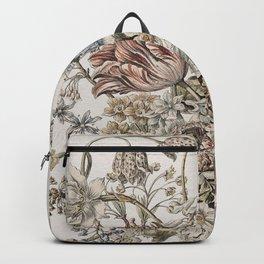 Fleur Vintage Bouquet Backpack