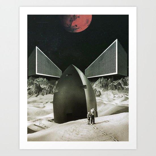 Exploring New Horizons Art Print