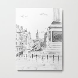 Trafalgar Square II Metal Print