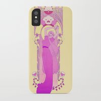 princess bubblegum iPhone & iPod Cases featuring Princess Bubblegum by NicoleGrahamART