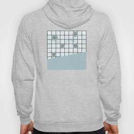 Succulents geometric composition - Mint Green Hoody