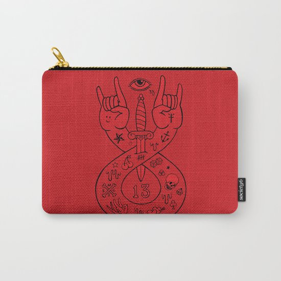 lament red Carry-All Pouch