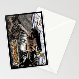 Little Brown Bat: Air-raging Honkers Stationery Cards