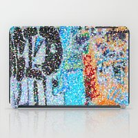 detroit iPad Cases featuring DETROIT GRAFFITI by Brittany Gonte
