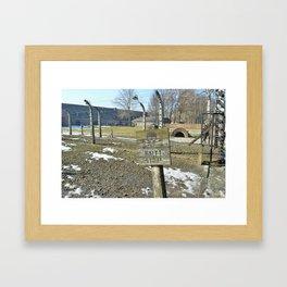 Auschwitz Framed Art Print