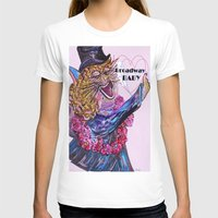 broadway T-shirts featuring Broadway Baby by EloiseArt