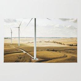 windturbine in nebraska Rug
