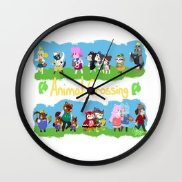 Animal Crossing Wall Clock