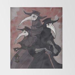 Plague Trio Throw Blanket