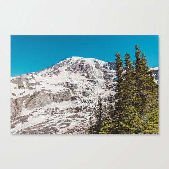 Rainier Days Canvas Print