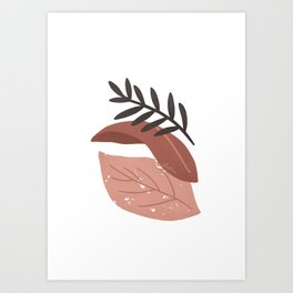 Bara - Leaves composition Art Print