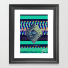 My favorite dream Framed Art Print