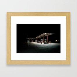 Gas Light  Framed Art Print