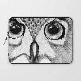mysterious owl Laptop Sleeve