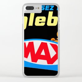 Conduisez Relax Englebert MAX - Vintage French Poster Clear iPhone Case
