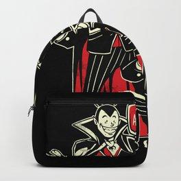 Blood Bong Vampires College Drinking Backpack