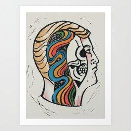 Energy Man Art Print