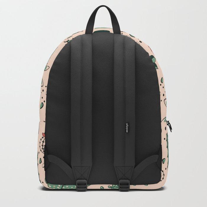Succulent Desert Backpack