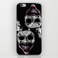 psycho iPhone & iPod Skins featuring psycho by arTistn